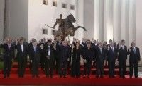 Foto oficial de los Presidentes en la Cumbre de CELAC