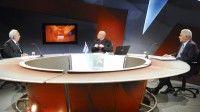 El peligro de agresión de EEUU e Israel contra Irán fue hoy el tema central de la Mesa Redonda Informativa de la radio y la televisión cubanas. Foto: Juan Carlos Alejo