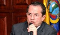 Ministro de Relaciones Exteriores de Ecuador, Ricardo Patiño
