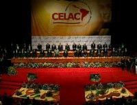 Presidente Chávez da la bienvenida a PPresidentes en CELAC. Foto: VTV