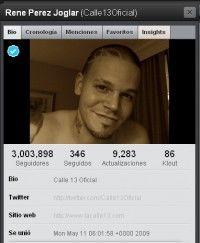 Twitter de Calle 13