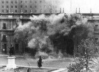 Bombardeos en La Moneda, Santiago de Chile, 11 de septiembre de 1973