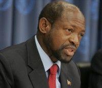 Denzil Douglas, presidente de la Comunidad del Caribe (Caricom) y primer ministro de San Cristóbal y las Nieves