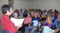 Emma Georgina Acevedo, presidenta de la Peña de los Alfabetizadores, se refirió al éxito de esta iniciativa, constituida por 236 alfabetizadores, que permite rescatar la memoria de la alfabetización a medio siglo de la gesta.