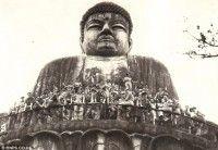 Las tropas disfrutan de un día en el templo en Beppu en espera de las nuevas asignaciones.