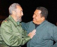 Chávez siempre interesado en paz colombiana, afirma Fidel Castro