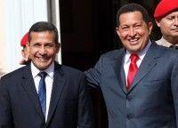 Ollanta Humala y Hugo Chávez. Foto archivo