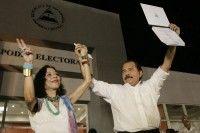 Todo listo para la asunción de Ortega a la Presidencia. Foto: EFE