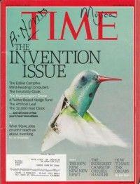 Portada de la Revista Time