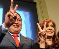 Chávez ratifica a Cristina la solidaridad venezolana en el reclamo argentino
