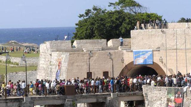 Propuestas de la Feria del Libro para este viernes. Foto: Cubadebate.