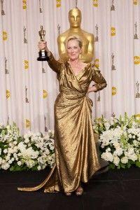 Meryl Streep alcanza su tercer Oscar