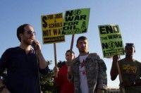 Activistas rechazan la guerra estadounidense contra el pueblo afgano