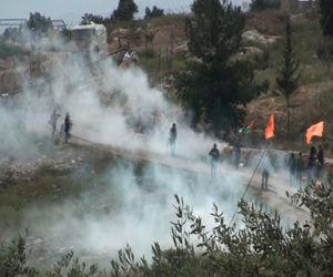 Israel reprime con violencia marchas palestinas por Jerusalén