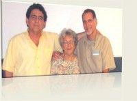 René, Irma y Roberto