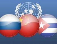 Rusia, China y Cuba dicen no a la internvecion en Siria