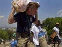 Sean Penn en Haití