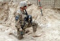 Soldado. Foto: EFE/I. Sameem