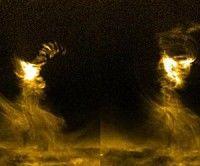 La NASA consigue grabar un tornado solar gigante