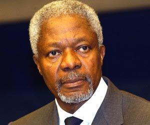 Ex secretario de ONU Koffi Annan llega hoy a Cuba