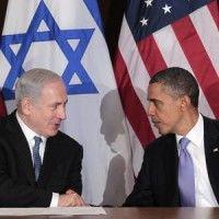 Barack Obama con el primer ministro israelí, Benjamin Netanyahu
