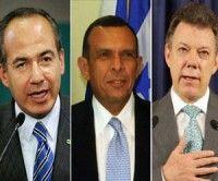 Colombia y México discutirán con presidentes de Centroamérica cómo combatir el narcotráfico