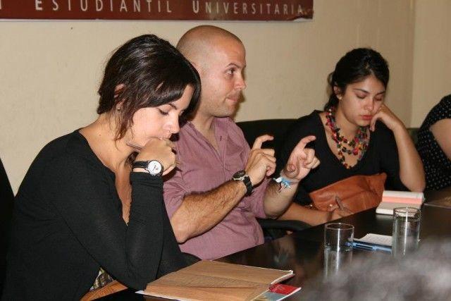 Carlos Alberto Rangel, Camila Vallejo y destacados dirigentes del movimiento estudiantil
