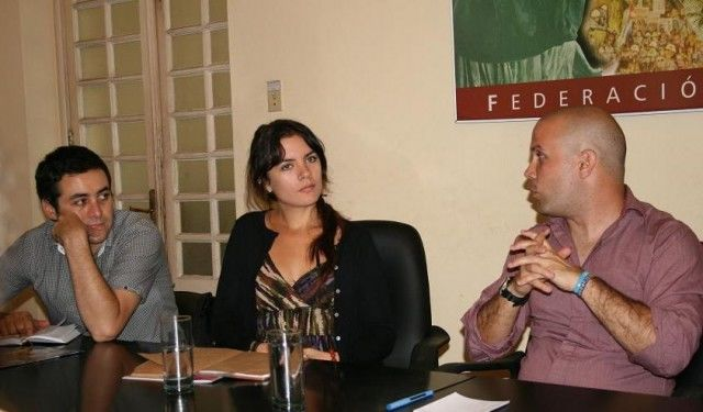 Delegacion chilena comparte con la FEU cubana