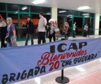 Arriba a Cuba brigada de solidaridad Che Guevara