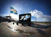 Monumento argentino en Las Malvinas
