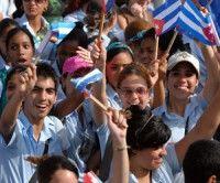 De fiesta hoy la Juventud cubana