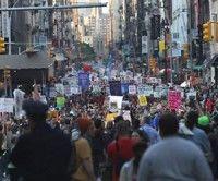 Manifestaciones por Primero de Mayo en todo el mundo; docenas fueron arrestados en Estados Unidos