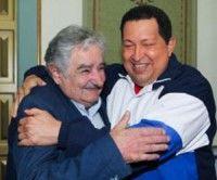 Los presidentes de Uruguay y Venezuela