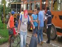 Damnificados por las lluvias en Cuba