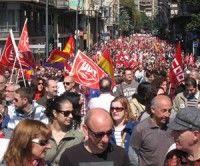 """Los sindicatos españoles llaman a marchar contra los que quieren """"acabar con todo"""""""