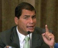 Califica Correa de verdadera vergüenza declaraciones de Obama