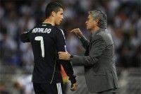 Cristiano Ronaldo y Mourinho