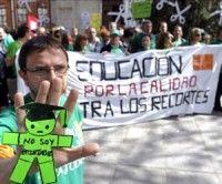 España: Miles de personas protestan contra los recortes