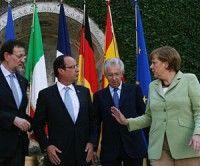 Líderes europeos inicián cumbre que marcará el futuro de la Eurozona