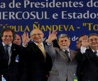 Cancilleres del Mercosur centrarán debate en Paraguay y TLC con China