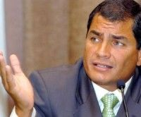 Correa con altísima popularidad por su gestión, según encuesta
