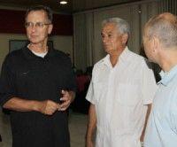 """""""Emocionado de estar en La Habana"""", dice presidente de USA Baseball"""
