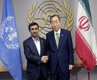 Ahmadineyad prevé un encuentro con el máximo dirigente de la ONU