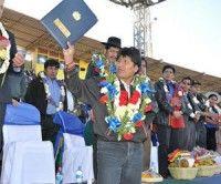 Gobierno de Evo Morales ha sacado de la pobreza a un millón de bolivianos