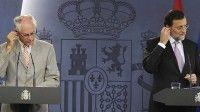 Rajoy y Van Rompuy niegan que estén negociando un nuevo rescate para España.
