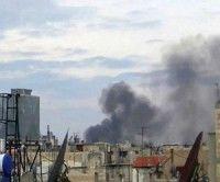 Enfrentamientos al noreste de Damasco