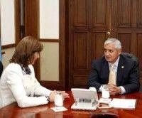 Guatemala respalda proceso de paz en Colombia