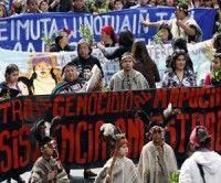 Mapuches denuncian venta de sus tierras a colonos y transnacionales extranjeras