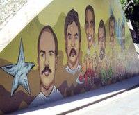 Dedicado un mural a los Cinco en Contramaestre