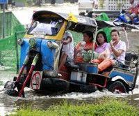 Lluvias e inundaciones causan estragos en Tailandia